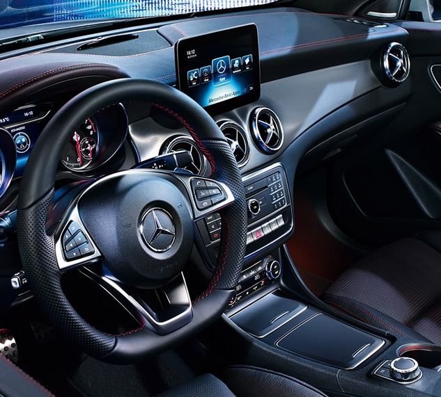 Mercedes-Benz CLA - Interior