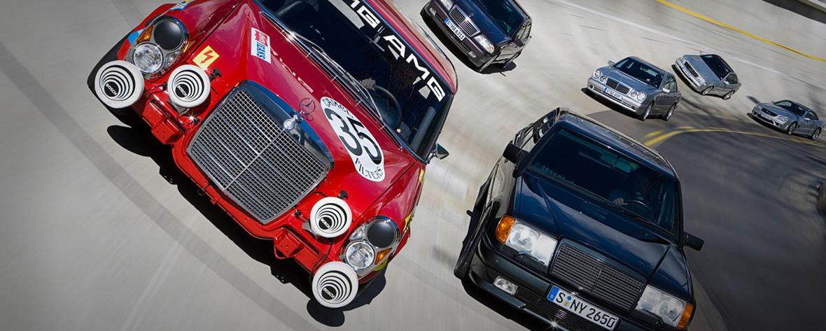 Mercedes AMG - La Historia