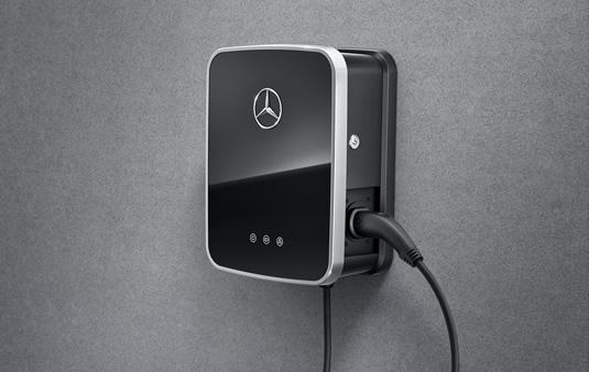 Base de carga mural Mercedes-Benz con cable de carga fijo | Accesorios Originales Mercedes-Benz