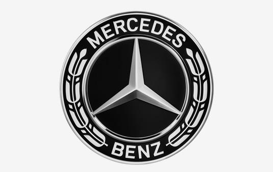 Embellecedor de rueda, Estrella con corona de laurel | Accesorios Originales Mercedes-Benz