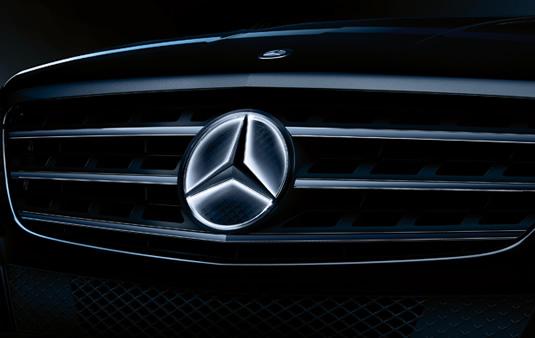 Estrella Mercedes iluminada, Elemento decorativo | Accesorios Originales Mercedes-Benz