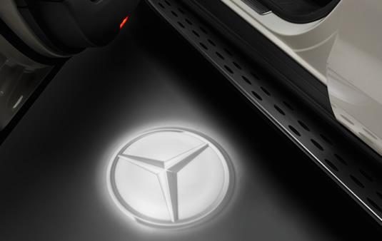 Proyector LED, Estrella Mercedes, 2 piezas | Accesorios Originales Mercedes-Benz