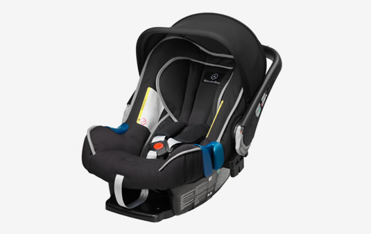Silla infantil BABY-SAFE plus II, Con transponder, ECE + China | Accesorios Originales Mercedes-Benz