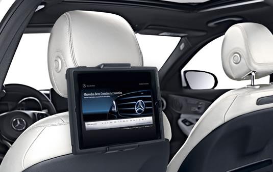 Soporte para tableta (código 866), Paquete Style & Travel | Accesorios Originales Mercedes-Benz
