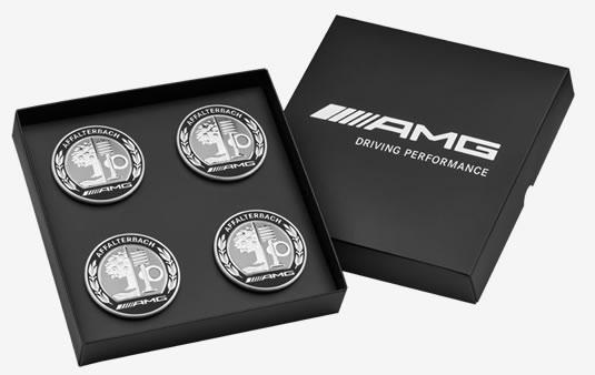 Tapacubos AMG, con escudo AMG, Set de 4 unidades | Accesorios Originales Mercedes-Benz
