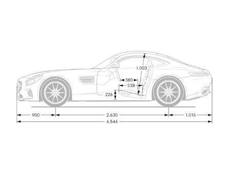 Dimensiones (lateral)
