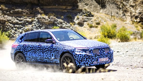 Así luce el Mercedes-Benz EQC en Almería: el primer coche 100% eléctrico de la estrella con formato SUV