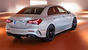 Más espacio para el Mercedes Clase A Sedán, ahora con baúl