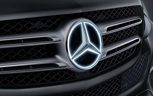 Estrella Mercedes iluminada | Accesorios Originales Mercedes-Benz