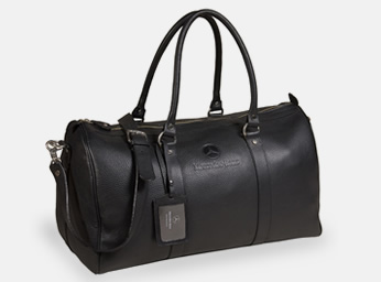 Bolso de cuero negro | Mercedes-Benz Boutique